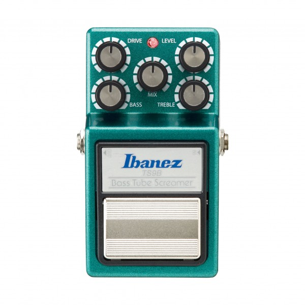 Ibanez TS9B Bass Tube Screamer Overdrive Pedal- Front