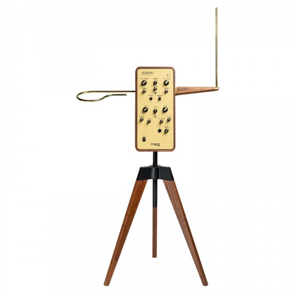 Moog Claravox Centennial Theremin with Stand - Front
