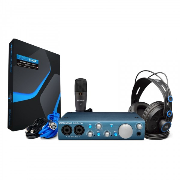 PreSonus AudioBox iTwo Studio - Complete Bundle