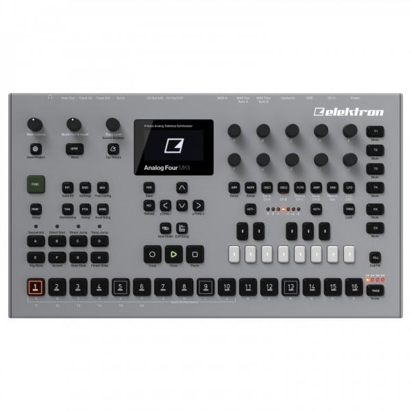 Elektron Analog Four MKII, Grey - Top