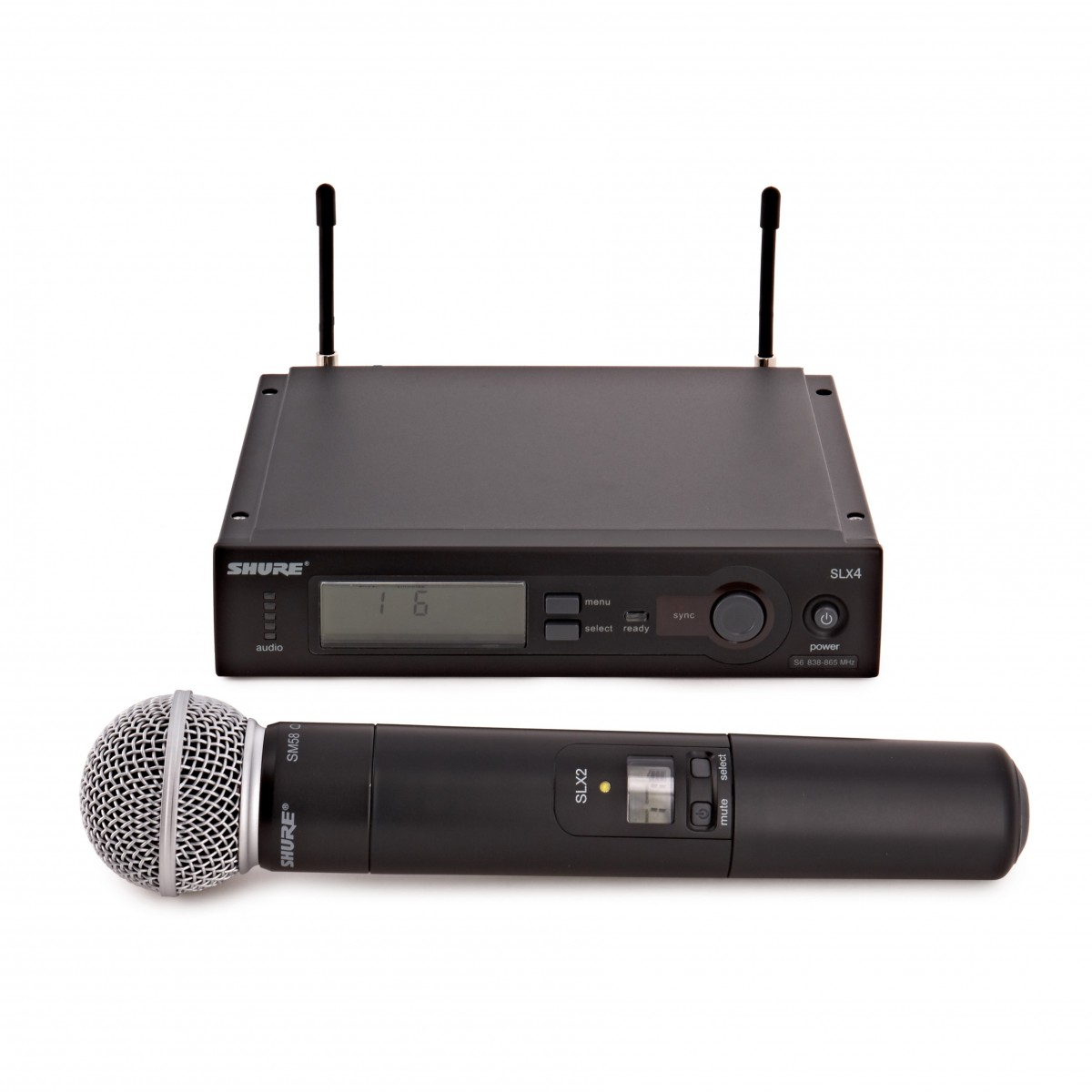 Shure SLX24UK/SM58-S6 Handheld Wireless Microphone System
