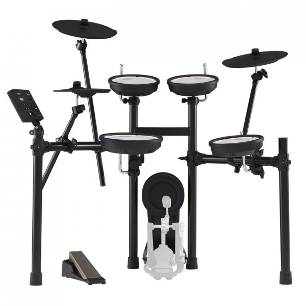 Roland TD-07KV V-Drums Electronic Drum Kit - Front