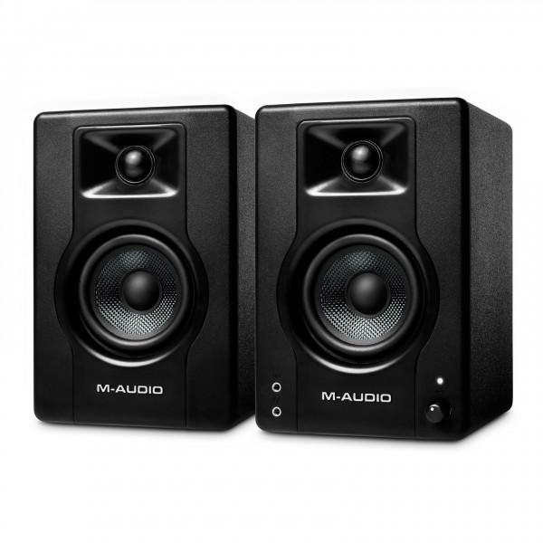 M-Audio BX3 Studio Monitor, Pair - Angled