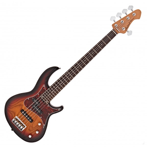 Aria 313 MK2/5 Detroit Bass, Open Pore Sunburst