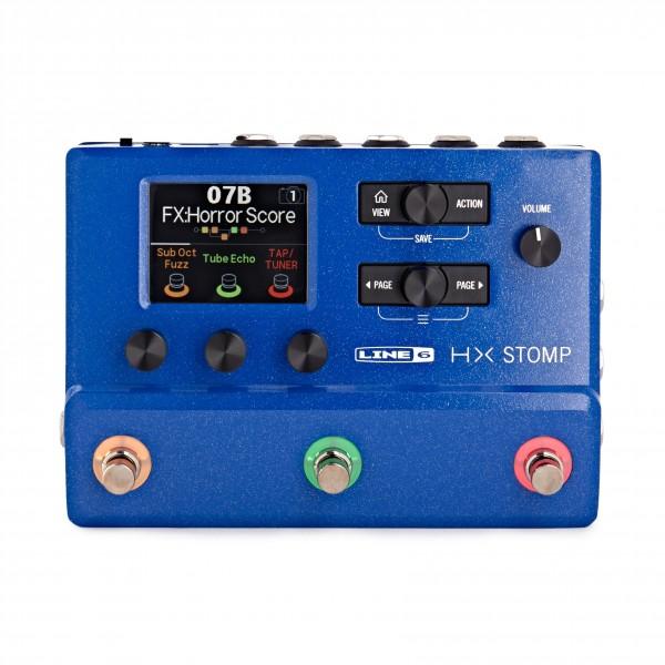 Line 6 Helix HX Stomp Multi-Effects Pedal Ltd Ed, Blue