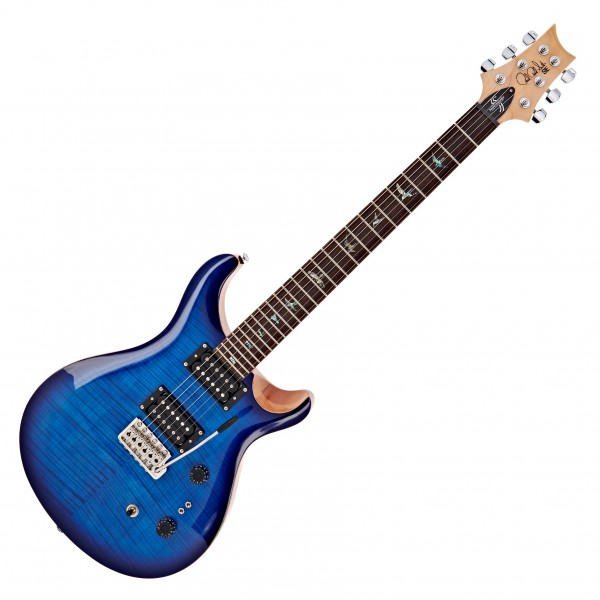PRS 35th Anniversary SE Custom 24, Faded Blue Burst