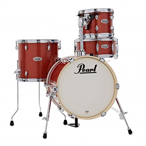 Pearl Midtown 4pc Compact Shell Pack, Orange Crush