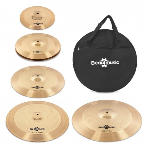 CZ2 Complete Cymbal Pack by Gear4music