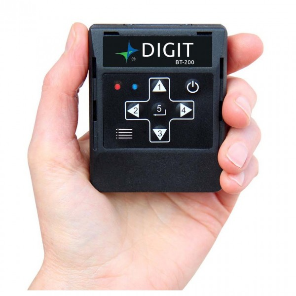 AirTurn DIGIT200 Bluetooth Handheld Remote - Front View
