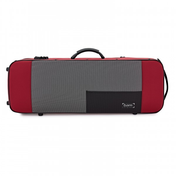 "BAM 5140 16"" Viola Case, Red"