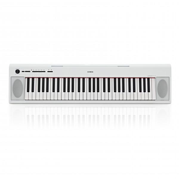 Yamaha Piaggero NP12 Portable Digital Piano, White