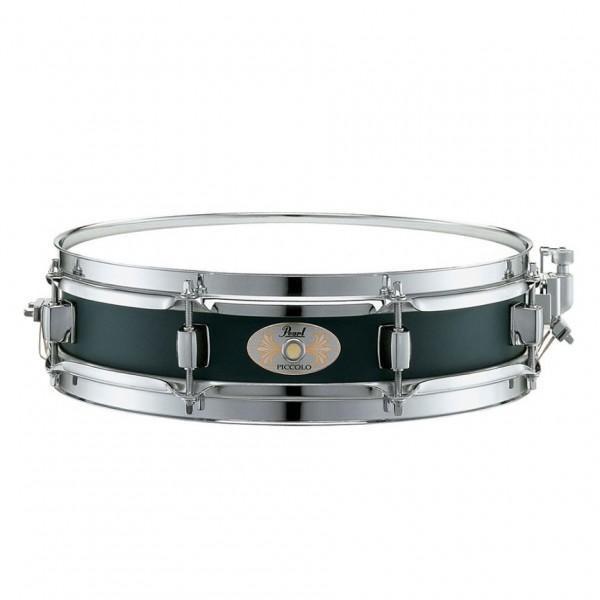 Pearl 13'' x 3'' Steel Piccolo Snare Drum, Black