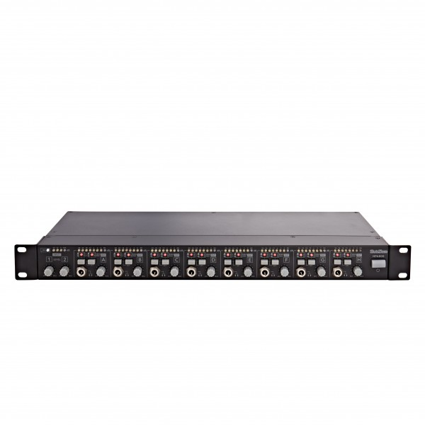 SubZero HPA800 8 Channel Rack Headphone Amplifier