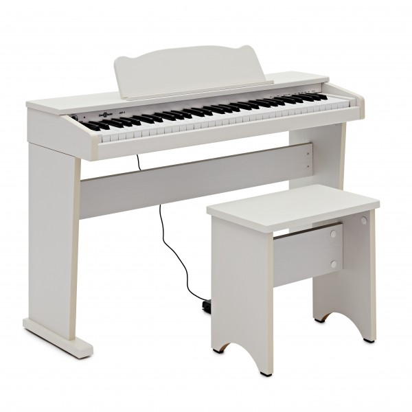 JDP-1 Junior Digital Piano by Gear4music, White