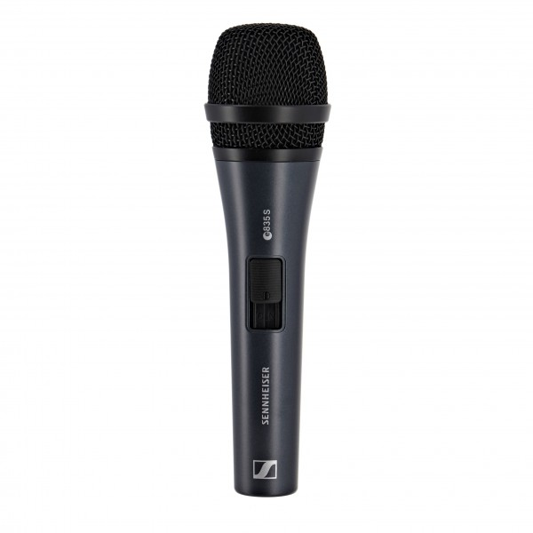 Sennheiser e835S Cardioid Vocal Mic with Switch