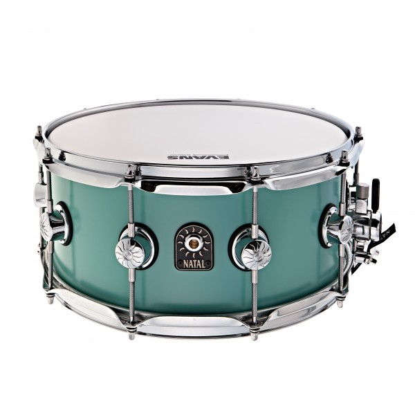 Natal Café Racer 14'' x 6.5'' Snare Drum,Sea Foam Green