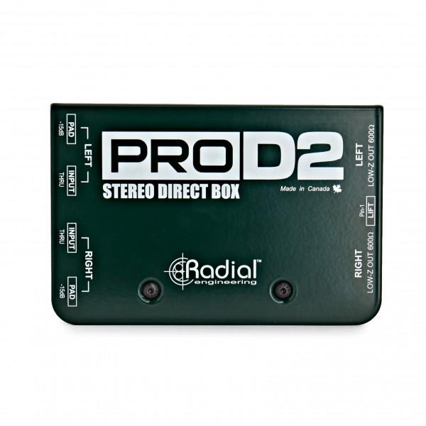 Radial ProD2 Stereo Passive DI Box