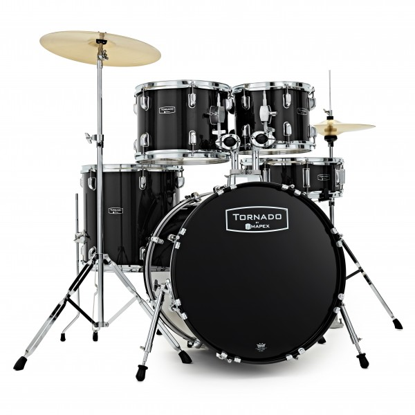 Mapex Tornado III 22'' Rock Fusion Drum Kit, Black