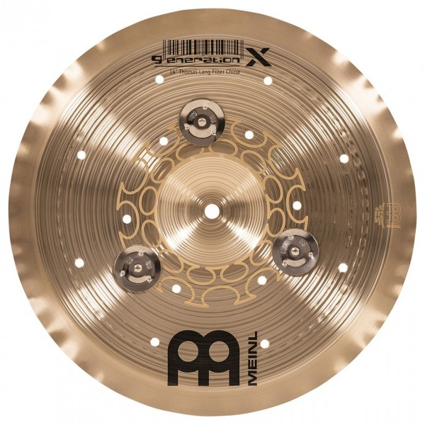 "Meinl Generation X 14"" Jingle Filter China Cymbal"
