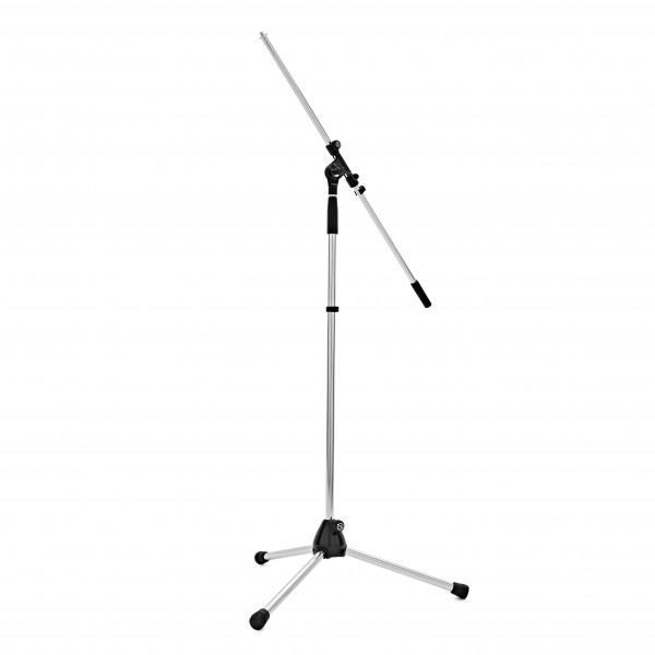 K&M 210/2 Boom Microphone Stand, Chrome