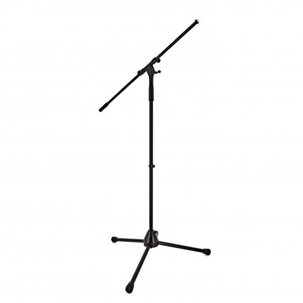K&M 210/2 Boom Microphone Stand, Black