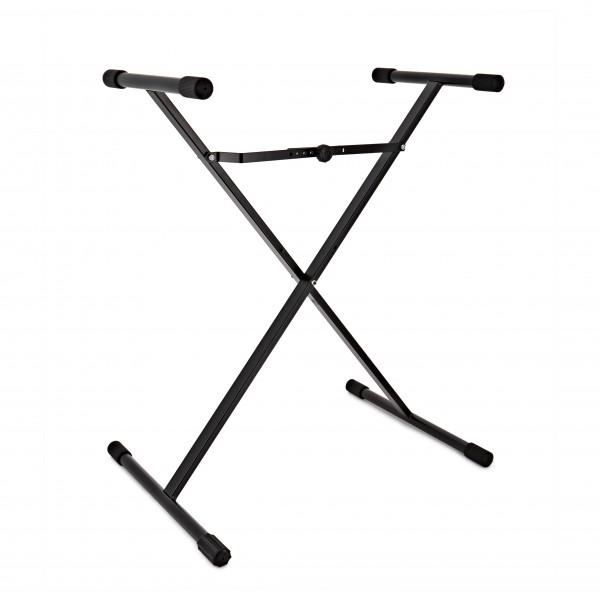 K&M 18962 X Frame Keyboard Stand, Black