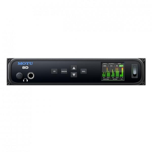 MOTU 8D AES3 / S/PDIF USB Audio Interface