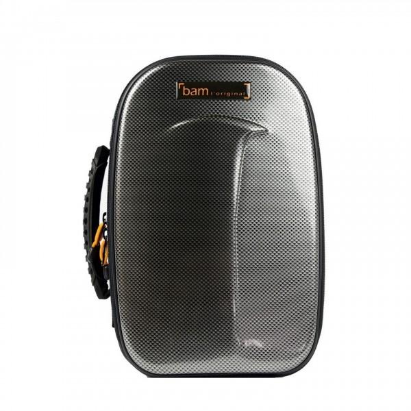 BAM New Trekking Bb Clarinet Case, Silver Carbon Finish