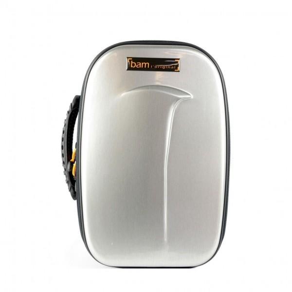 BAM TREK3027S New Trekking Bb Clarinet Case, Brushed Aluminium