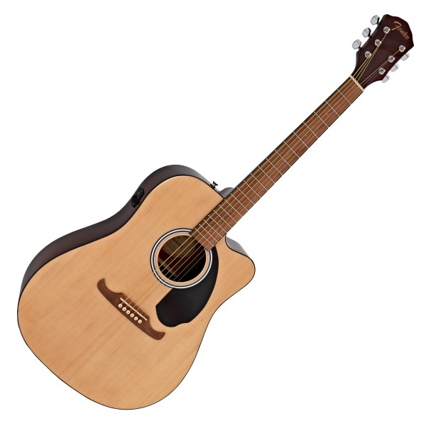 Fender FA-125CE Dreadnought Electro Acoustic WN, Natural