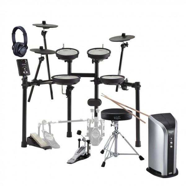 Roland TD-1DMK V-Drums Electronic Drum Kit Ultimate Bundle