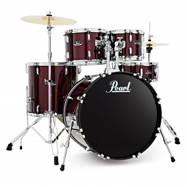 Pearl Roadshow 5pc American Fusion Drum Kit, Red Wine