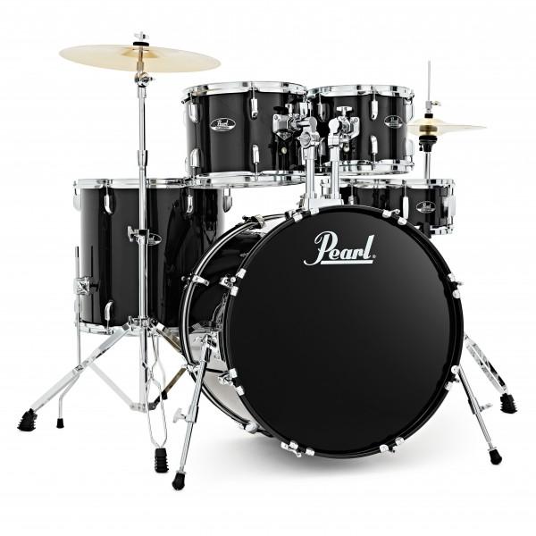 Pearl Roadshow 5pc American Fusion Drum Kit, Jet Black