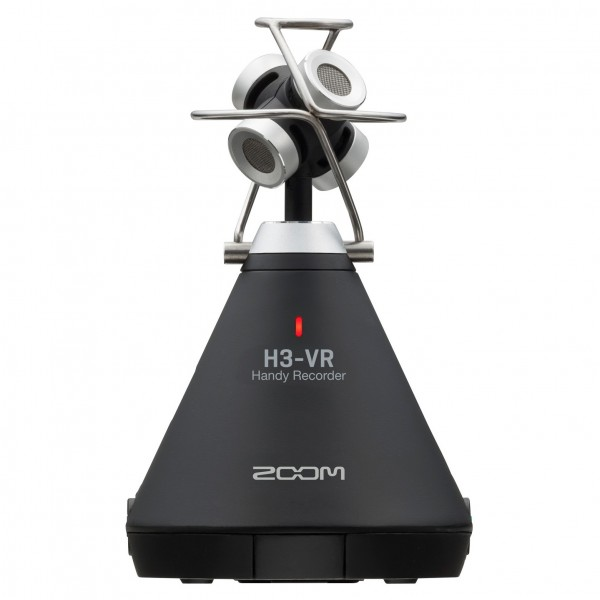 Zoom H3-VR Virtual Reality Audio Recorder - Angled