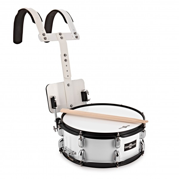 """14"""" X 5.5"""" Marching Snare Drum with Carrier by Gear4music"""