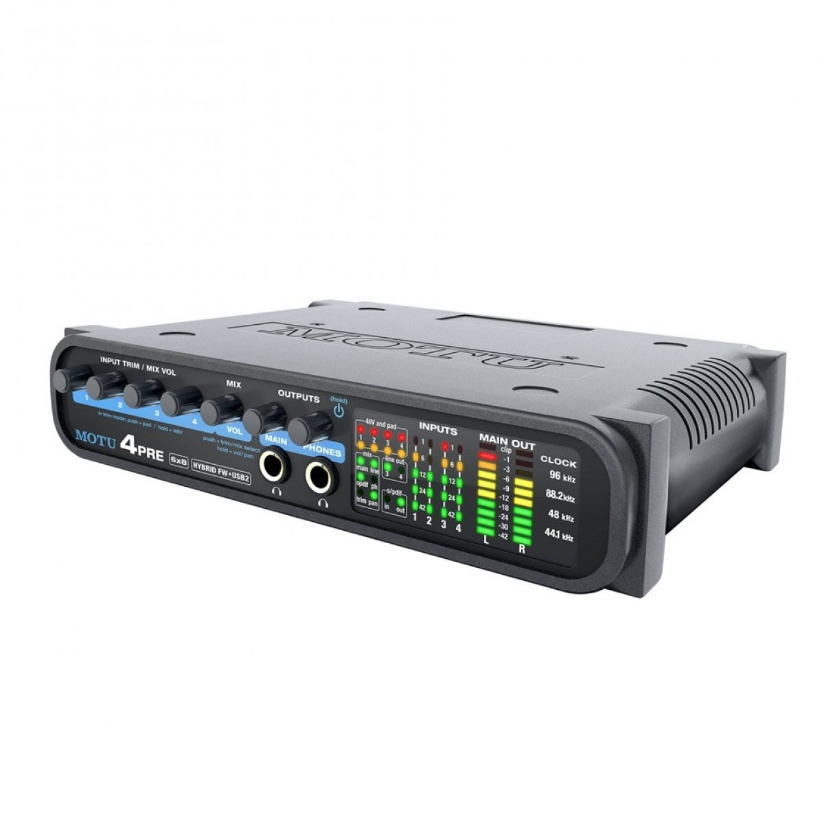 Click to view product details and reviews for Motu 4pre Hybrid Audio Interface.