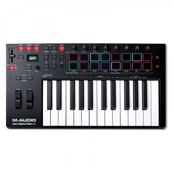 M-Audio Oxygen Pro 25 MIDI Controller - Top