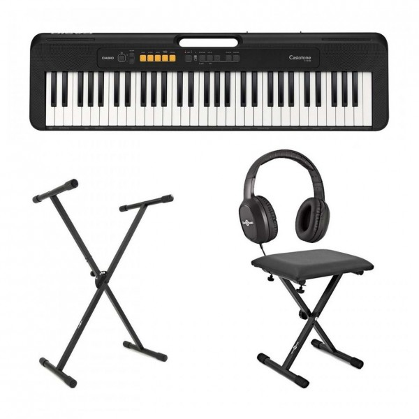 Casio CT S200 Portable Keyboard Package, Black