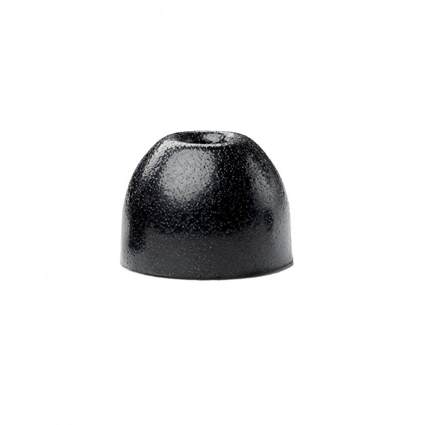 Shure EABKF1-100M Black Foam Sleeves, 100 Pieces, Medium