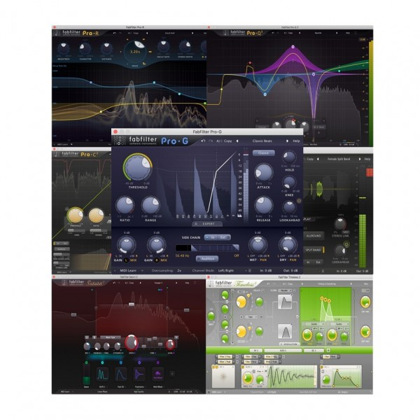 FabFilter Mixing Bundle, Digital Delivery