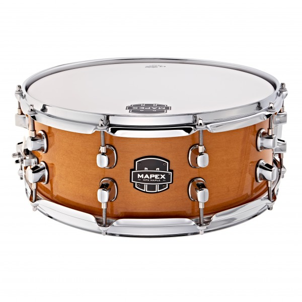 "Mapex MPX 14"" X 5.5"" Maple Snare Drum, Natural Gloss"