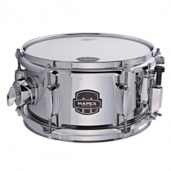 """Mapex MPX 10"""" x 5.5"""" Steel Snare Drum"""