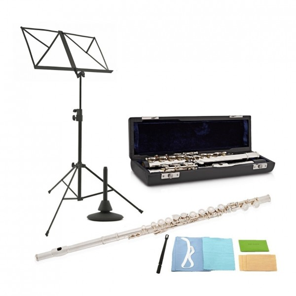 Deluxe Flute by Gear4music + Accessory Pack