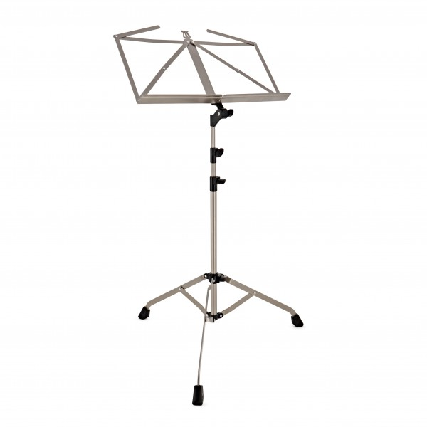 K&M Music Stand Extra Sturdy, Nickel-Coloured Finish
