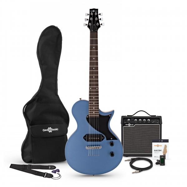 New Jersey Classic II Electric Guitar + Amp Pack, Pelham Blue