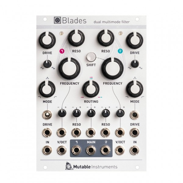 Mutable Instruments Blades, Dual Filter (18HP)