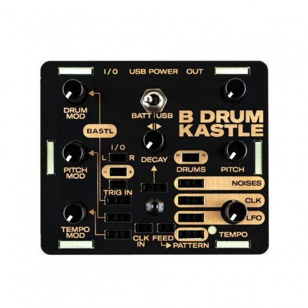 Bastl Kastle Drum - Top View