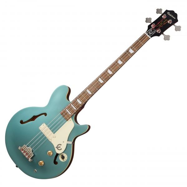 Epiphone Jack Casady Bass, Faded Pelham Blue