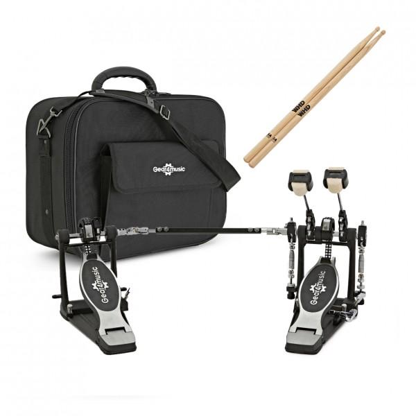 Double Kick Pedal Bundle with Bag