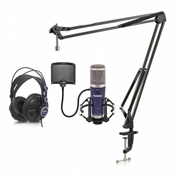 SubZero SZC-600-USB Condenser Microphone Studio Pack